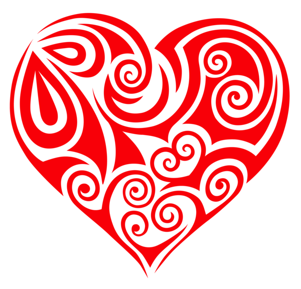 Transparent ornament png valentine. Horseshoe clipart heart