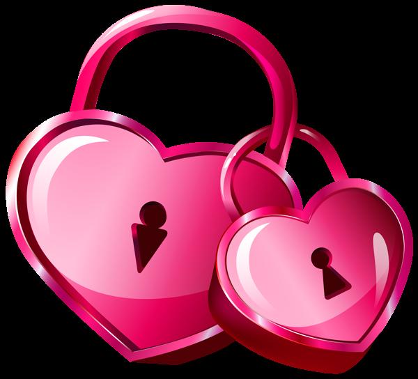 Heart locks png clip. Lock clipart transparent