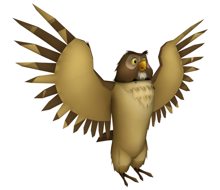 Wing clipart owl. Playstation kingdom hearts the