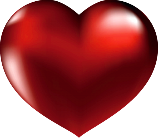 Clipart hearts paint. Large red heart valentine