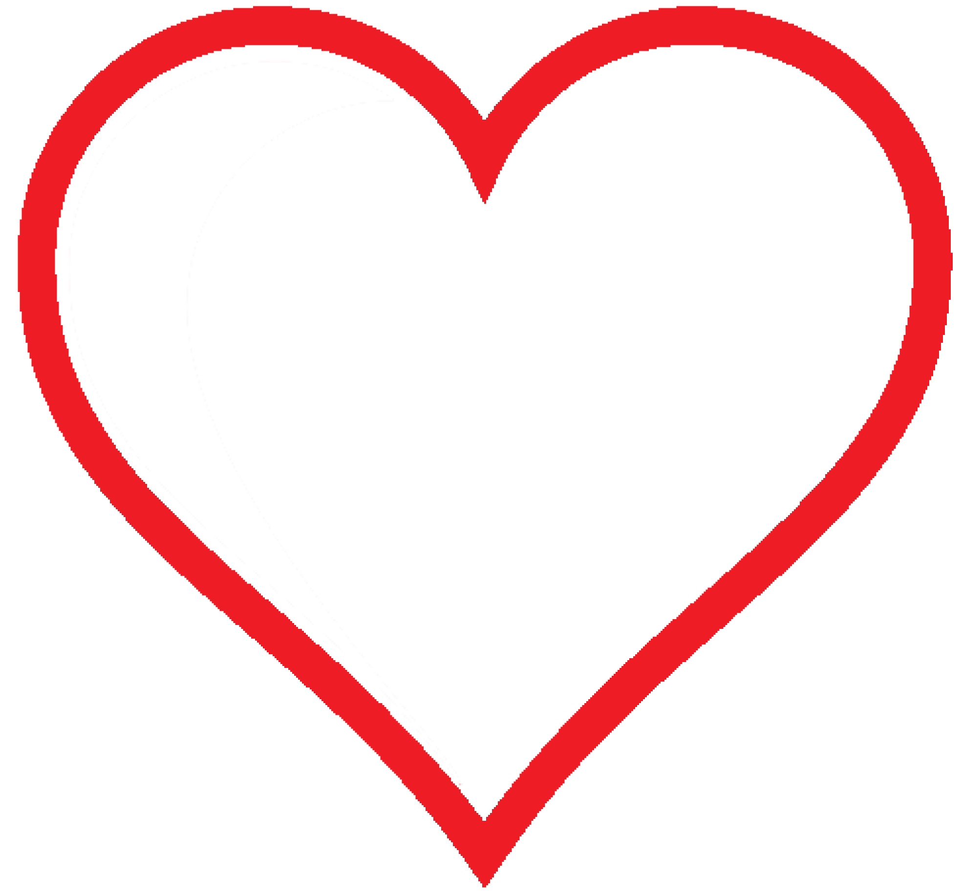 Double heart free download. Clipart hearts pencil