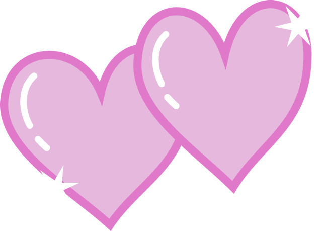 Hearts clipart pencil. Double heart and in