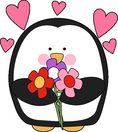 Clipart penguin valentine. Free cliparts download clip