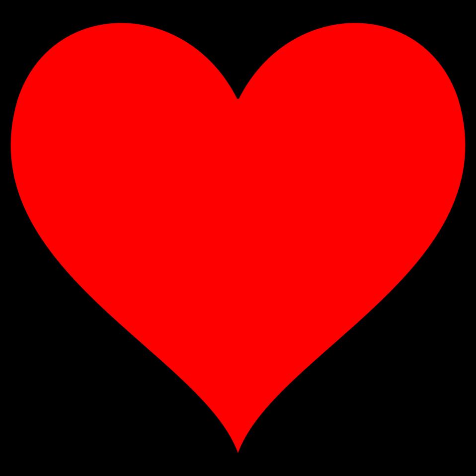 Public domain clip art. Clipart hearts person