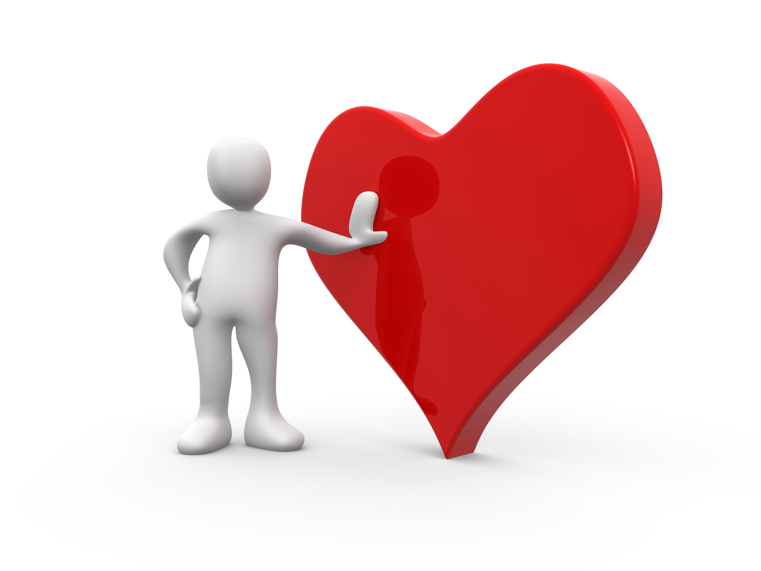 Hearts clipart person. Free thinking heart cliparts