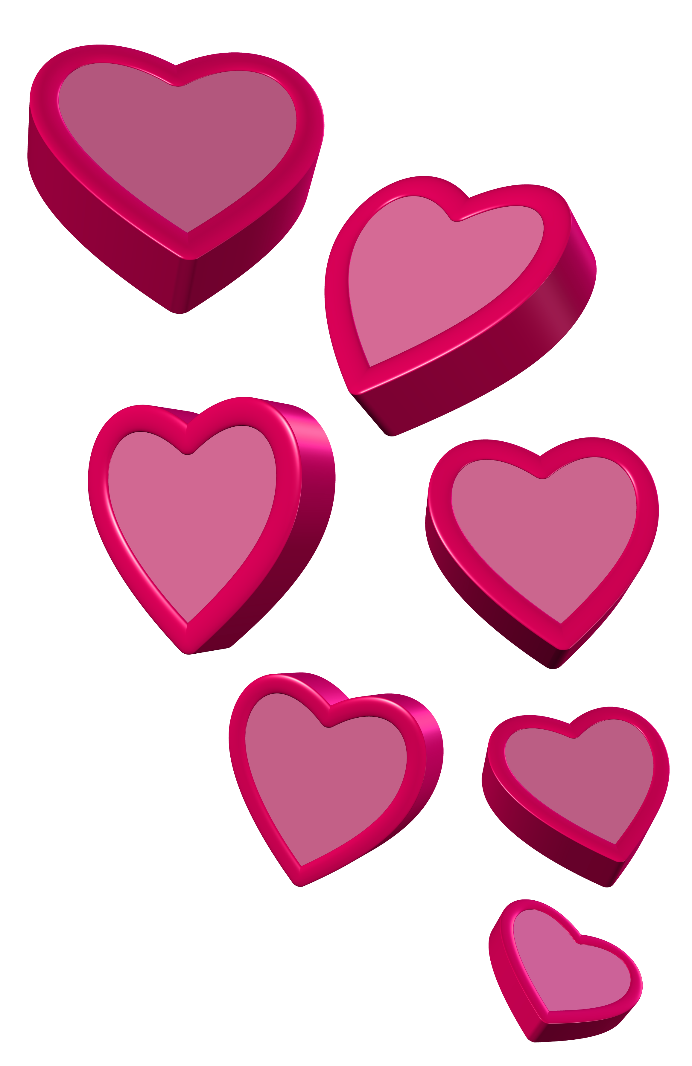 Png picture gallery yopriceville. Clipart hearts pink