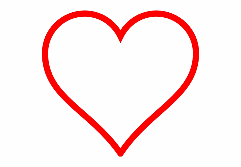 White and heart transparent. Hearts clipart red