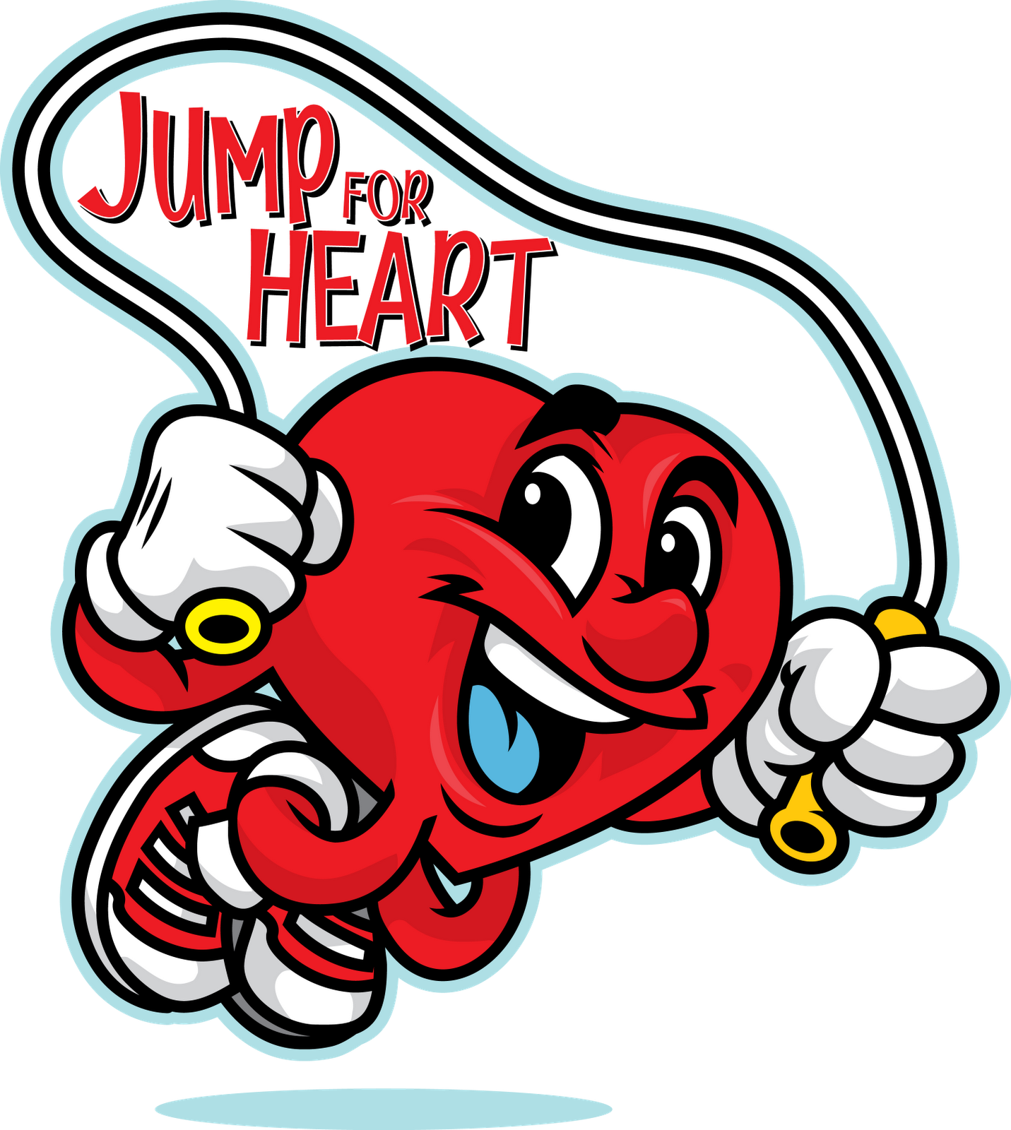 clipart hearts rope
