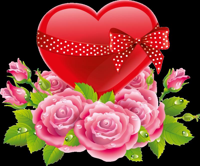 cora es delicados. Clipart hearts rose