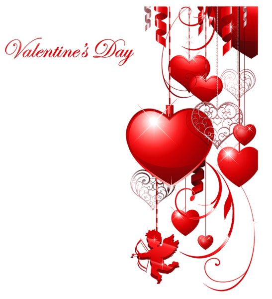 Valentines day decor with. Clipart hearts school