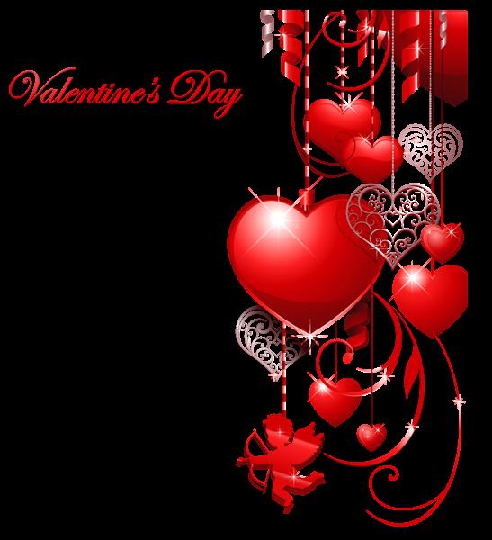 confetti clipart valentines