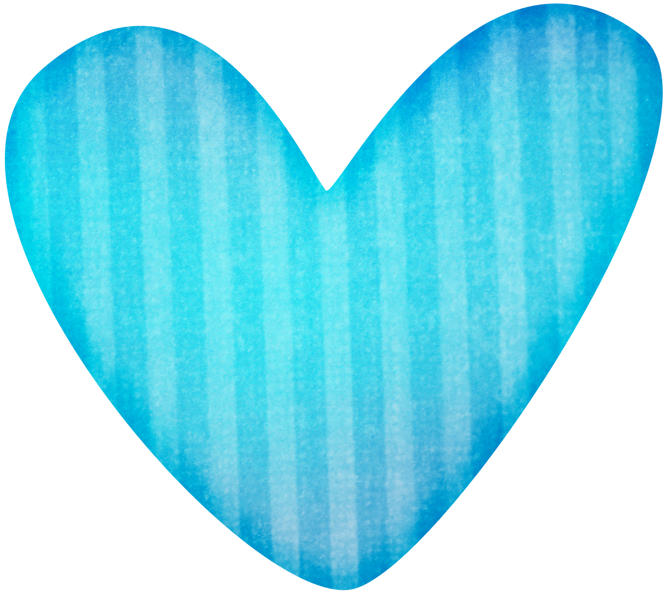 Blue stripped heart sand. Missions clipart education
