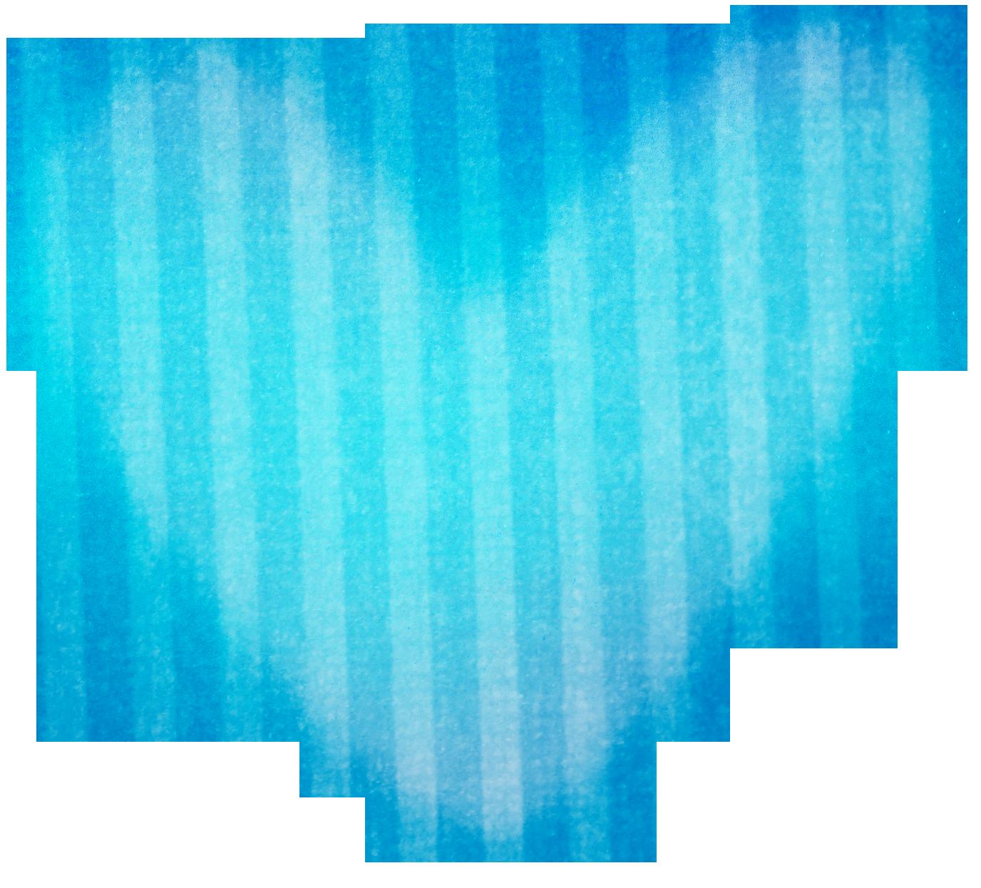 Blue stripped heart sand. Clipart hearts school