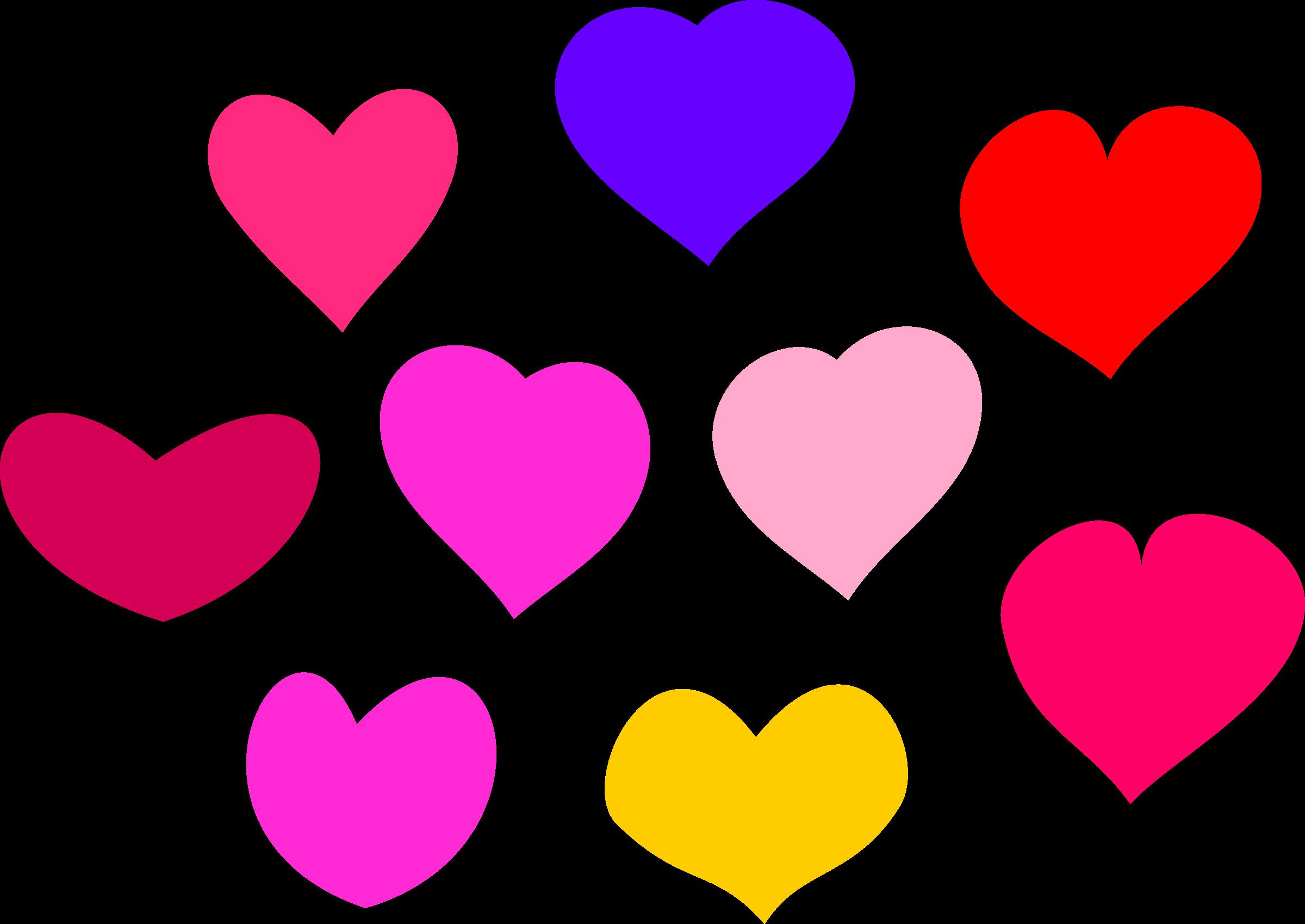 Bundle of. Clipart hearts school