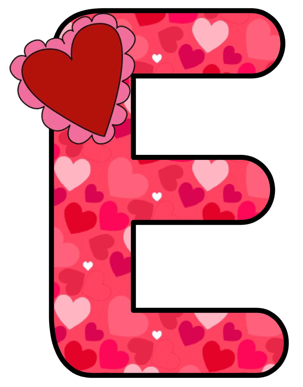 Ch b alfabeto corazon. Stamp clipart abc