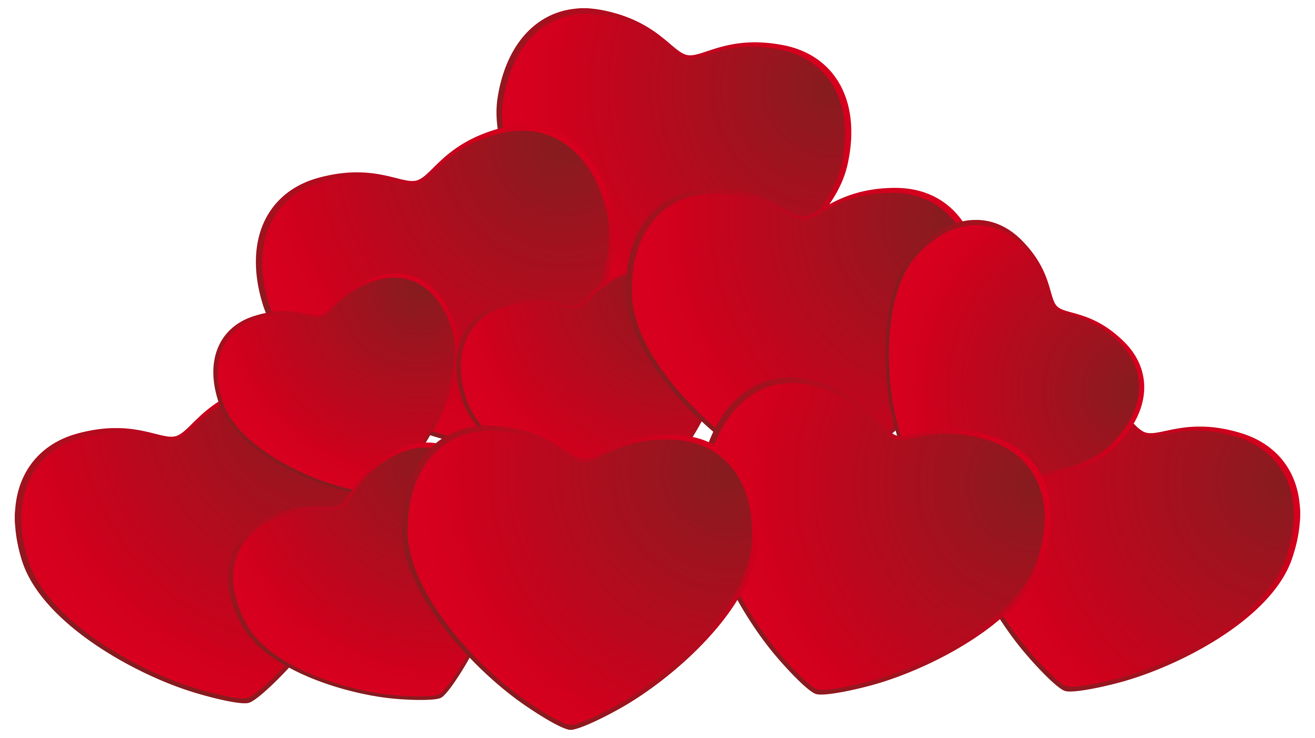 Clipart hearts star. Pile of png
