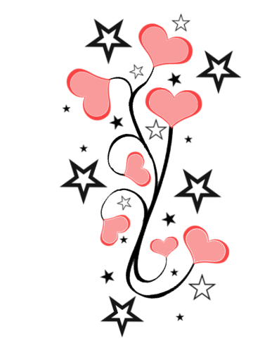 Hearts clipart star. Free pictures of and