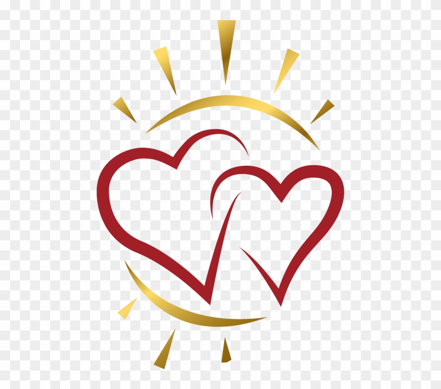With a heart png. Hearts clipart sun