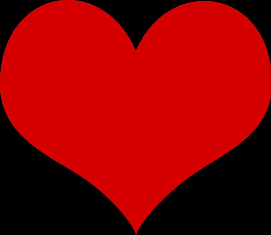 Heart clipart vector. Free art download clip