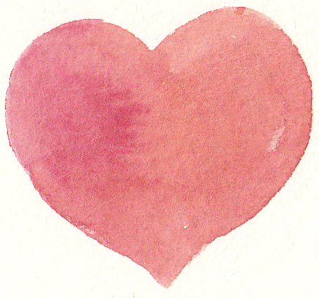 Free heart cliparts download. Hearts clipart watercolor