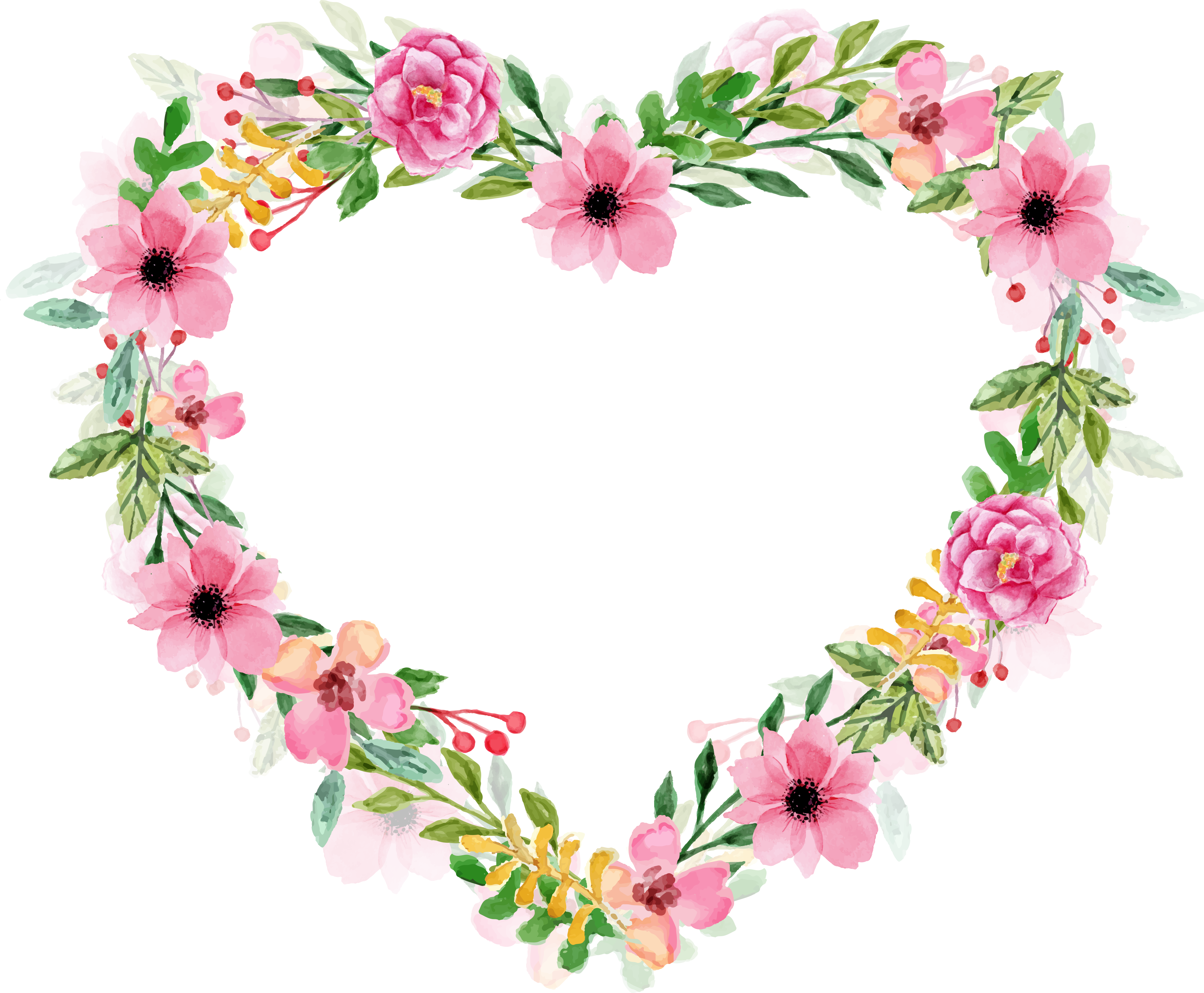 Clipart hearts watercolor. Www freeprettythingsforyou com wp
