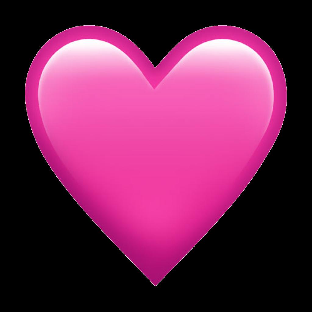 Clipart hearts watercolor. Emoji heart iphone sticker