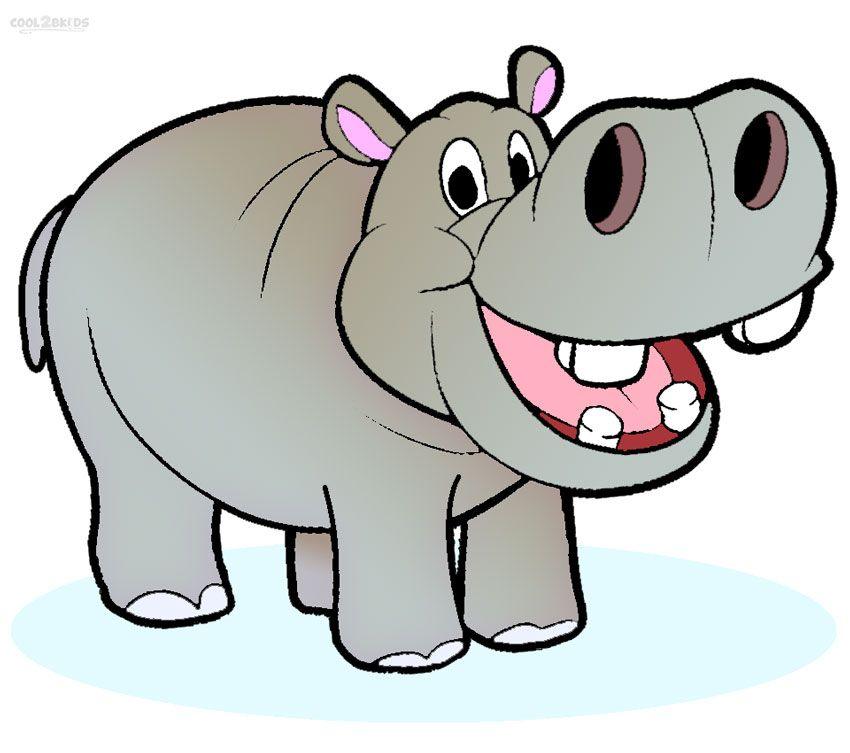 Clipart hippo. Free cliparting com images