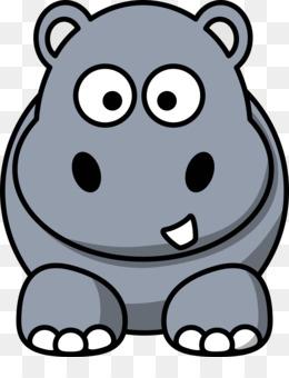 Clipart hippo. Hippopotamus baby hippos free