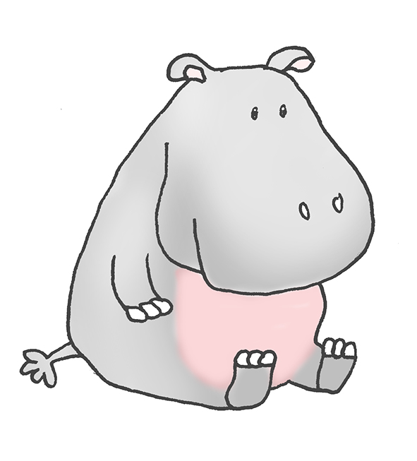 Cartoon party guy clip. Clipart hippo