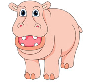 Free clip art pictures. Clipart hippo