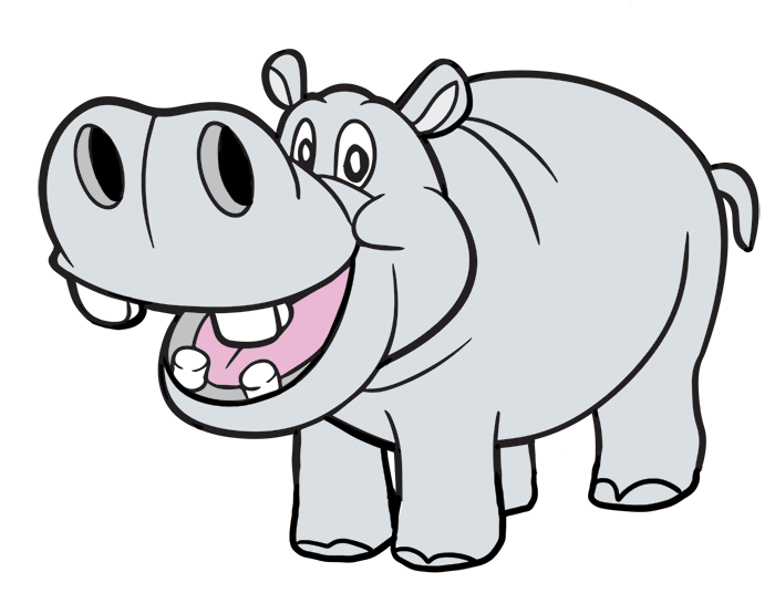 Clipart hippo. Hippopotamus panda free images