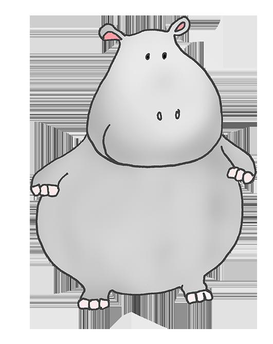 Hippopotamus angry