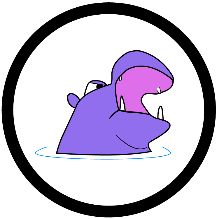 Angry hippo gaming . Games clipart fair game
