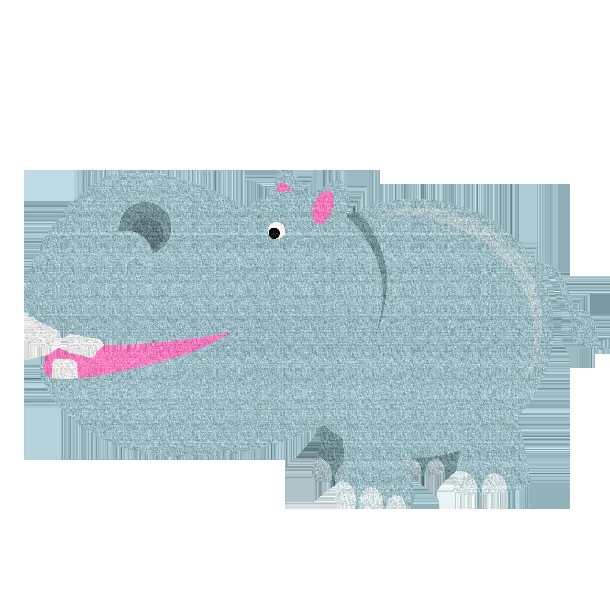 Clipart hippo animation. Hippopotamus cartoon clip art