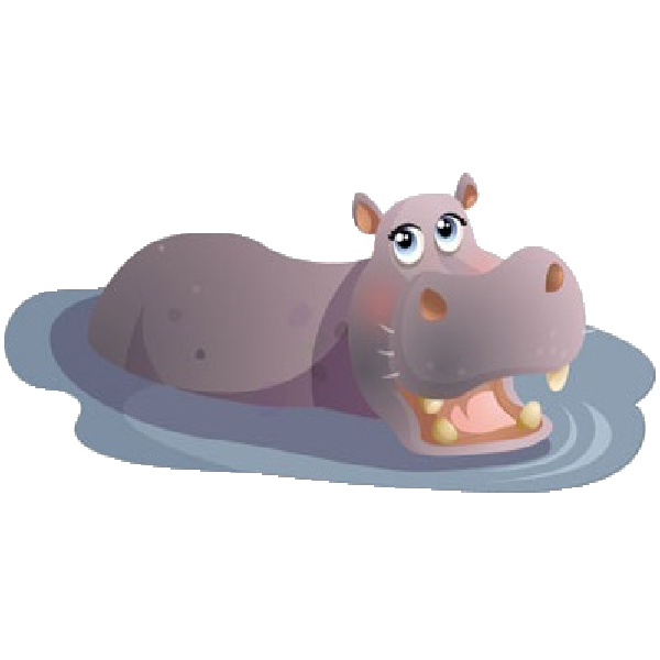 Art page not found. Clipart hippo baby hippo