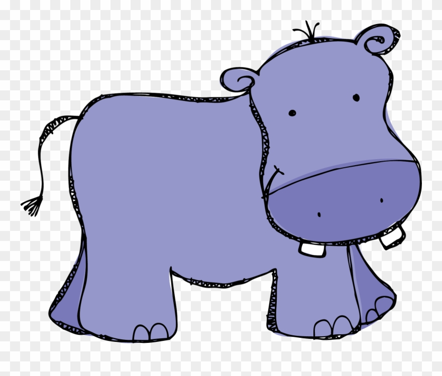 Image of clip art. Clipart hippo baby hippo
