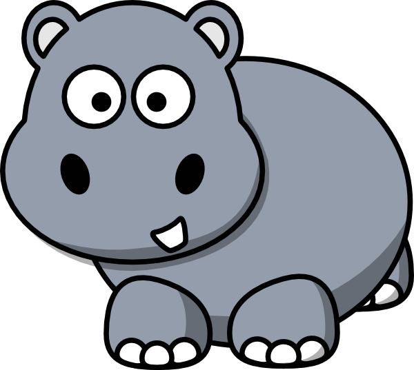 Clipart zebra hippo. Animated