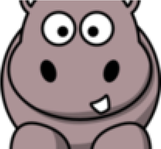 Clipart hippo comic. Cartoon download on