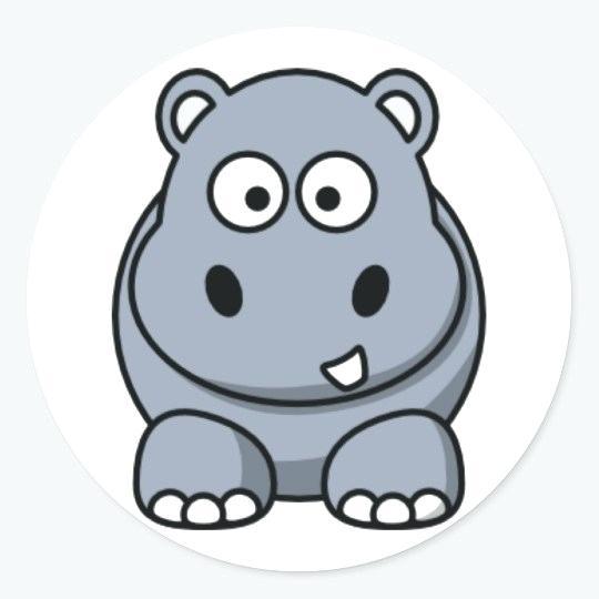 Clipart hippo comic. Cartoonhippo edenolur co
