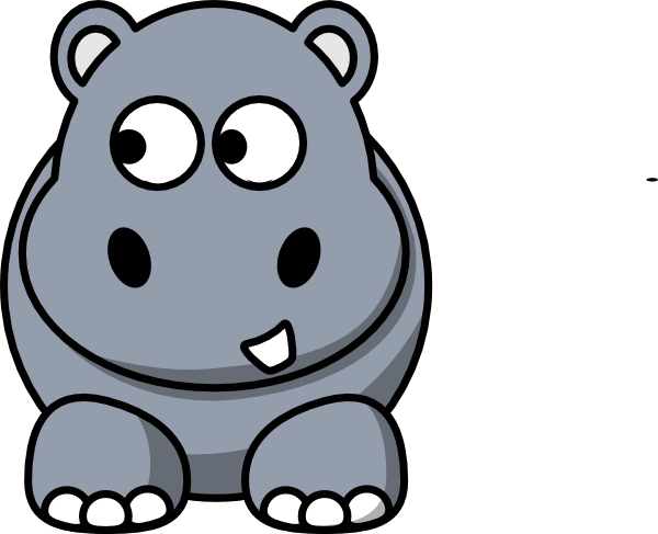 Clipart hippo comic. Free download best on