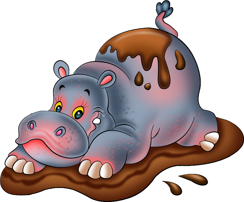 Pin by nicki cook. Clipart hippo cool