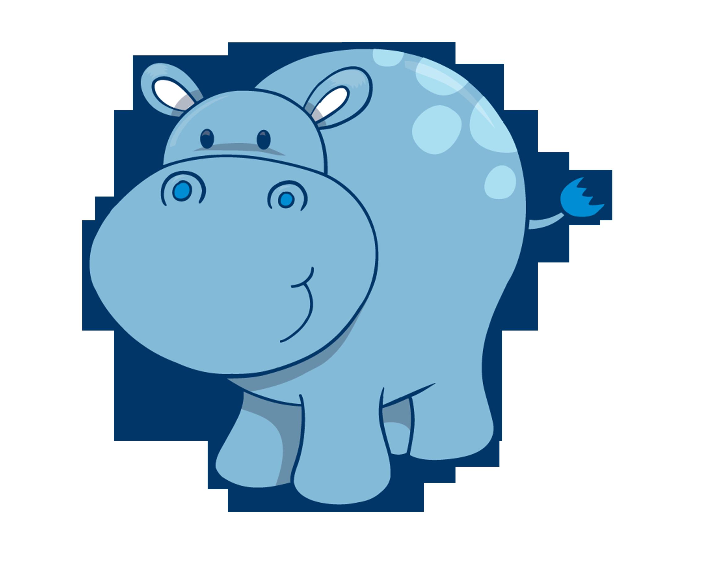 Clipart hippo cool. Hippopotamus cuteness drawing clip