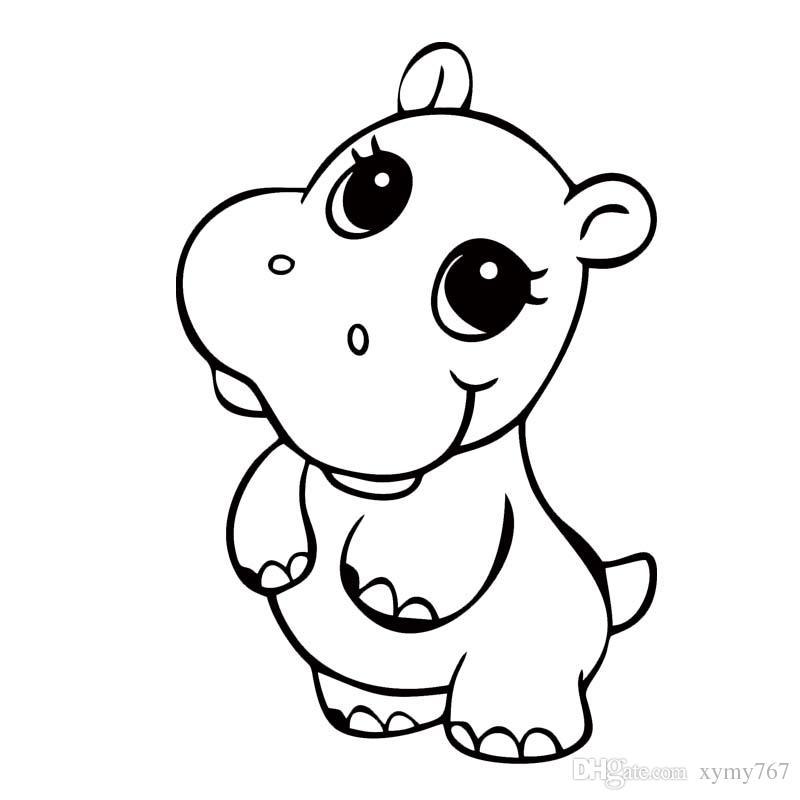 Free drawn download clip. Clipart hippo cute anime