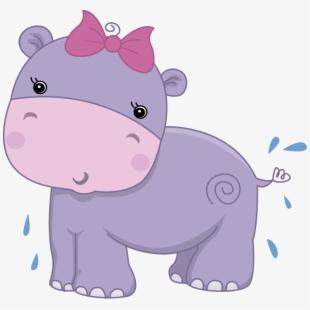 Drawn cartoon free cliparts. Clipart hippo cute anime