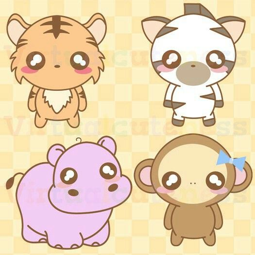 Kawaii how to draw. Clipart hippo cute anime