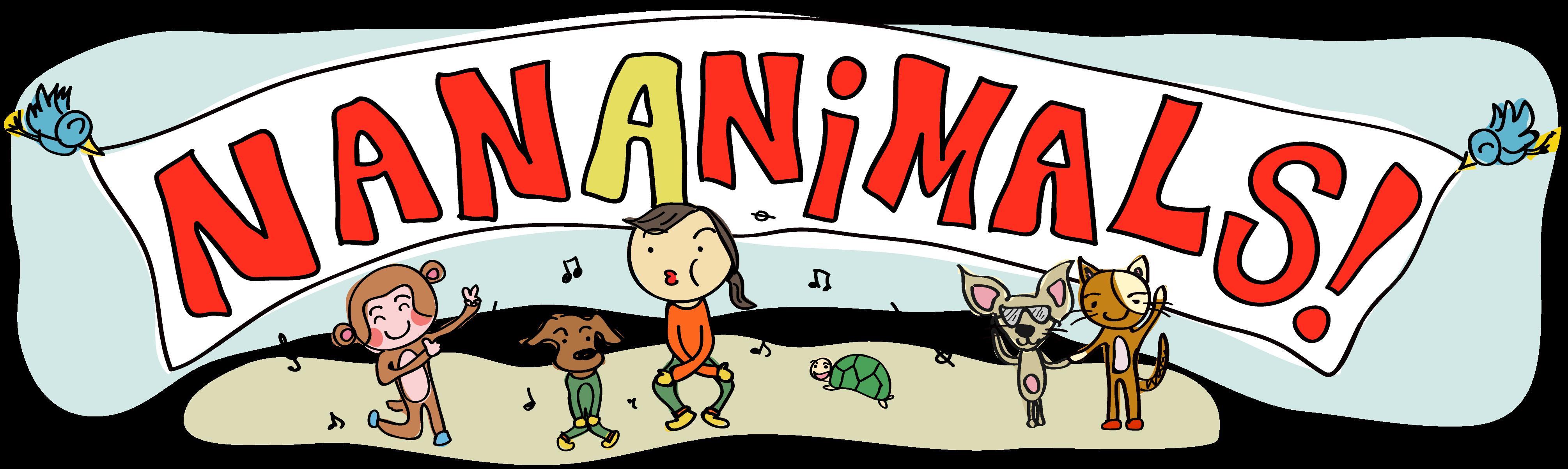 Clipart hippo dancing. Dance love peace nananimals