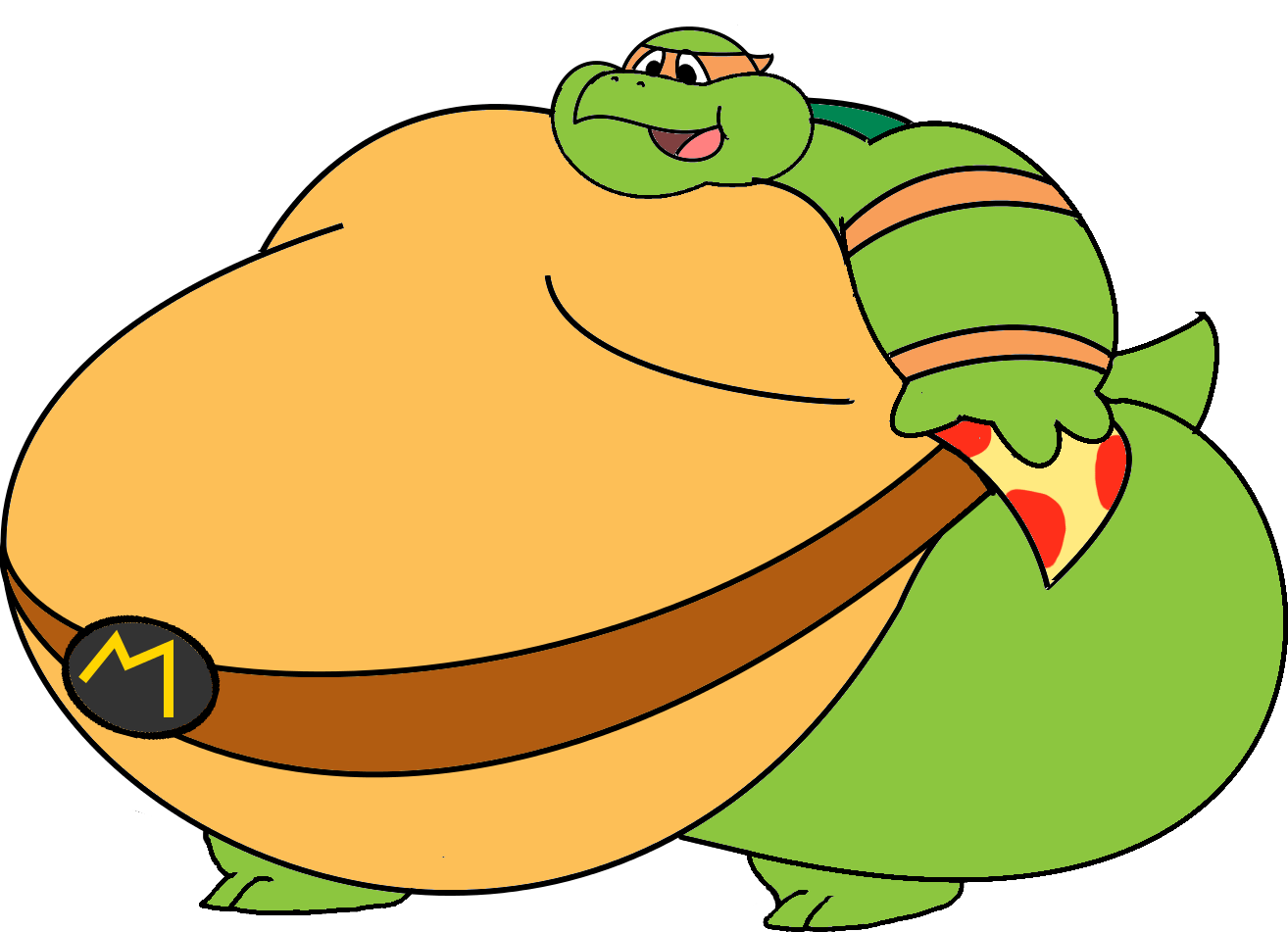 Mikey weasyl. Clipart hippo fat