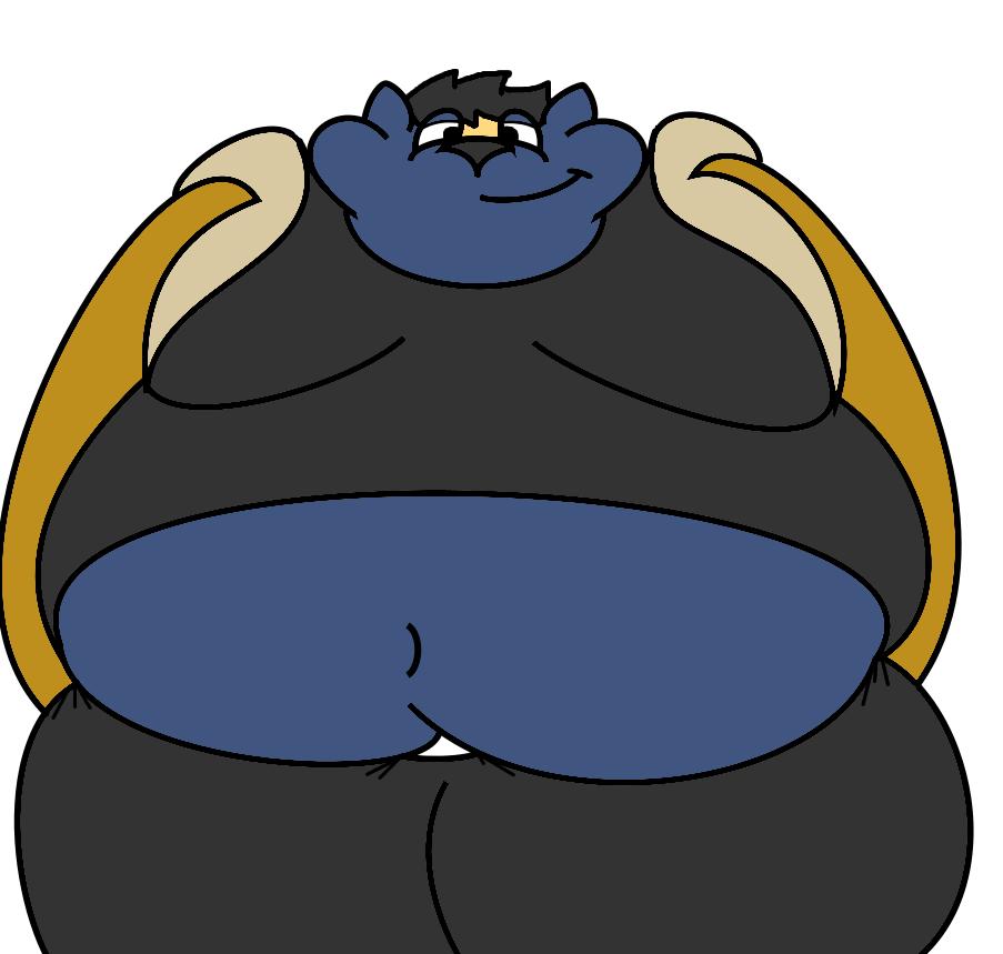 Clipart hippo fat. Felix front view weasyl