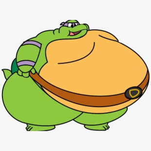 My big goldfish cartoon. Clipart hippo fat