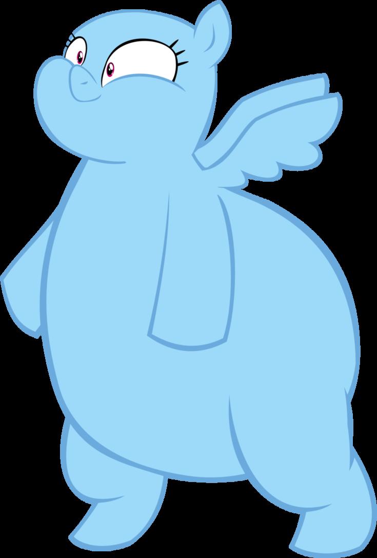 Clipart hippo fat. Pegasus base by megarainbowdash